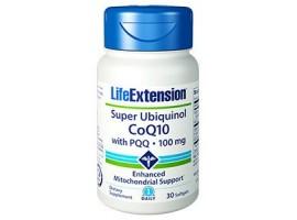 Life Extension Super Ubiquinol CoQ10 with PQQ® 100 mg, 30 softgels