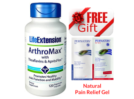 [Free Pernaton Sachets] Life Extension ArthroMax™ with Theaflavins & AprèsFlex™, 120 vege caps