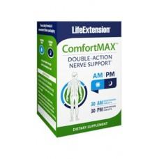 Life Extension ComfortMAX™ 30 AM vegetarian tablets, 30 PM vegetarian tablets