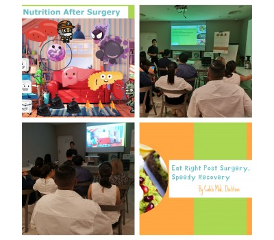 Public Education – Eat Right Post Surgery, Speedy Recovery