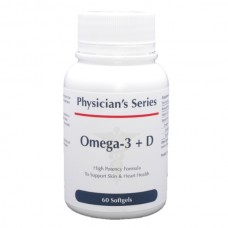 Physician's Series Ultra Omega-3 + D, 60 softgels