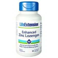 Enhanced Zinc Lozenges, 30 vege lozenges