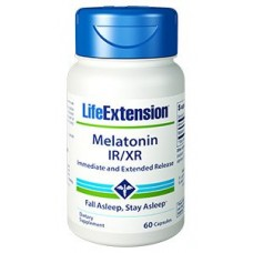 Melatonin IR/XR, 60 capsules
