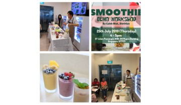 Cooking Demonstration –Smoothie Demo Workshop
