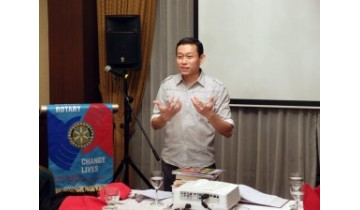 Health Talk to Rotary Club of Tanglin 2014