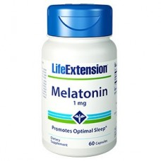 Life Extension Melatonin 1mg, 60 capsules