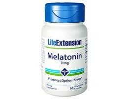 Life Extension Melatonin 3mg, 60 vege caps