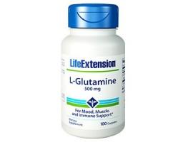 Life Extension L-Glutamine 500mg, 100 capsules