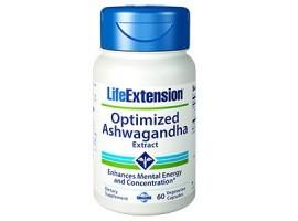 Life Extension Optimized Ashwagandha Extract, 60 vege caps