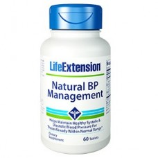 Life Extension Natural BP Management, 60 tablets (Expiry Dec 2018)