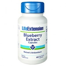 Life Extension Blueberry Extract, 60 vege caps (Expiry Aug 2018)