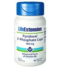Life Extension Pyridoxal 5′-Phosphate Caps 100 mg, 60 vege caps (Expiry Nov 2018)