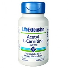 Life Extension Acetyl-L-Carnitine 500 mg, 100 vege caps (Expiry Sept 2018)
