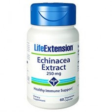 Life Extension Echinacea Extract 250mg, 60 vege capsules (Expiry May 2018)