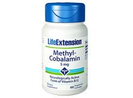 Life Extension Methylcobalamin Lozenges 5 mg, 60 lozenges