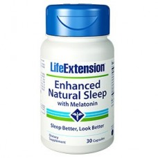Life Extension Enhanced Natural Sleep® with Melatonin, 30 capsules