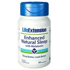 Life Extension Enhanced Natural Sleep® with Melatonin, 30 capsules  (Expiry Jun 2019)
