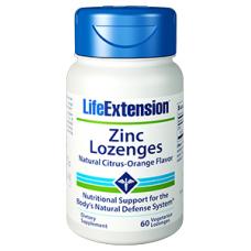 Life Extension Zinc Lozenges, 60 vegetarian lozenges  (Expiry Dec 2019)