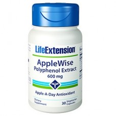 Life Extension AppleWise Polyphenol Extract 600 mg, 30 vege caps