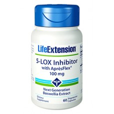 Life Extension 5-LOX Inhibitor with AprèsFlex 100 mg, 60 vege caps (Expiry Oct 2018)