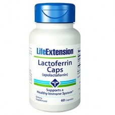 Life Extension Lactoferrin (apolactoferrin) Caps, 60 capsules (Expiry May 2019)