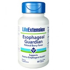 Life Extension Esophageal Guardian, 60 chewable tablets (Expiry Jul 2018)