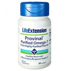 Life Extension PROVINAL® Purified Omega-7, 30 softgels (Expiry Sept 2018)