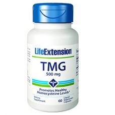 Life Extension TMG 500 mg, 60 liquid vege caps