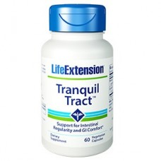 Life Extension Tranquil Tract™ , 60 vegetarian capsules (Expiry Jun 2019)