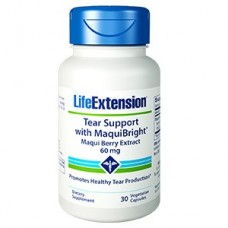 Life Extension Tear Support with MaquiBright® Maqui Berry Extract 60 mg, 30 vegetarian capsules (Expiry Dec 2019)