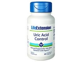 Life Extension Uric Acid Control, 60 Vege Caps