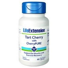 Life Extension Tart Cherry with CherryPURE®, 60 vege capsules