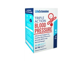 Life Extension Triple Action Blood Pressure, 60 vege tabs (Buy 1 get 1 free) (Expiry 10/2018)