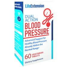 Life Extension Dual Action Blood Pressure, 60 vege tabs  (Expiry Aug 2018)