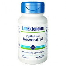 Life Extension Optimized Resveratrol, 60 Vege Caps