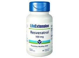 Life Extension Resveratrol 100 mg, 60 vege caps