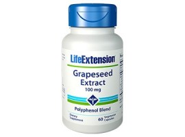 Life Extension Grapeseed Extract, 100 mg, 60 vege caps