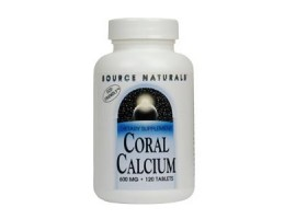 Source Naturals Coral Calcium 600mg, 120 Tablets