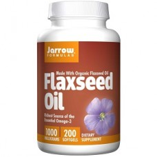 Jarrow Formulas Flaxseed Oil 1000mg, 200 softgels