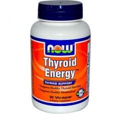 NOW Thyroid Energy, Thyroid Support, 90 Vege Caps
