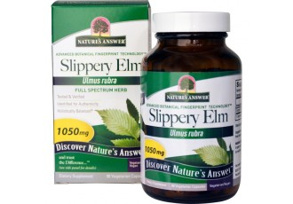 Nature's Answer, Slippery Elm, Ulmus Rubra,  1050 mg, 90 Vege Caps