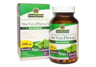 Aloe Vera Phytogel, 250 mg, 90 veggie caps