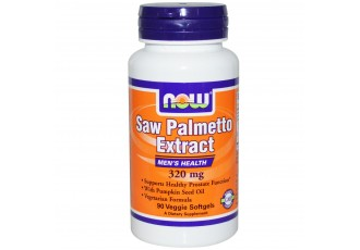 Now Foods, Saw Palmetto Extract, Men's Health 320 mg, 90 veg softgels