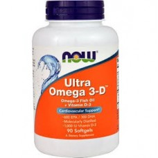 Ultra Omega 3-D™ 600 EPA/300 DHA, 90 Softgels