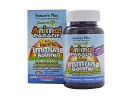 Nature's Plus Source of Life Animal Parade Kids Immune Booster (Natural Tropical Berry Flavor), 90 chewable tablets