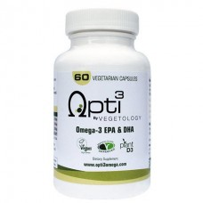Vegetology Opti3 Omega-3 EPA & DHA, 60 caps