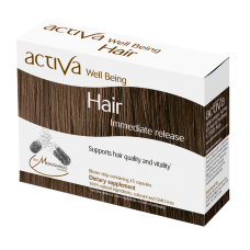 Activa Well-Being Hair, 45 vegetarian capsules