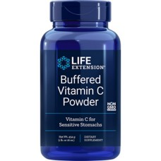Life Extension Buffered Vitamin C Powder, 454.6g