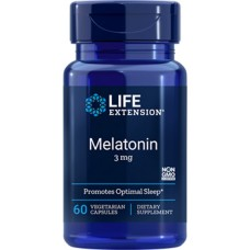 Life Extension Melatonin 3mg, 60 vege caps