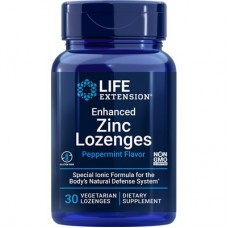 Life Extension Enhanced Zinc Lozenges, 30 vege lozenges